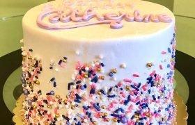 Sprinkle Mix Layer Cake