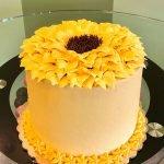 Sunflower Layer Cake