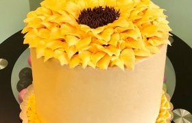 Sunflower Layer Cake