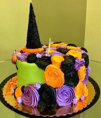 Witch Unicorn Layer Cake - Back