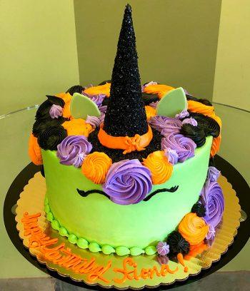 Witch Unicorn Layer Cake