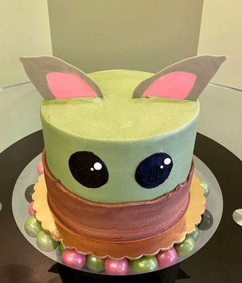 Baby Yoda Layer Cake - Top