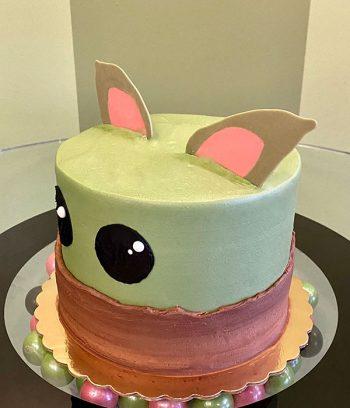 Baby Yoda Layer Cake - Side