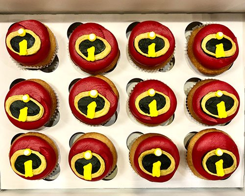 Incredibles Cupcakes