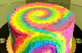 Tie-Dye Layer Cake