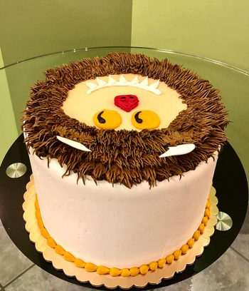 Where the Wild Things Are Layer Cake - Back