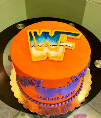 Wrestling Layer Cake - Top