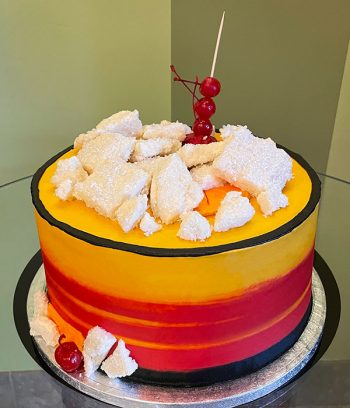 Old Fashioned Cocktail Layer Cake