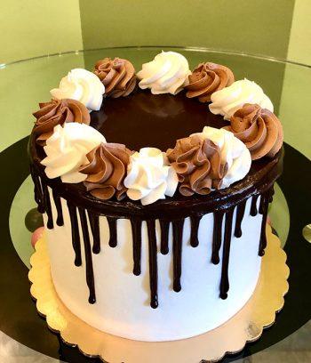 Tuxedo Layer Cake - Top