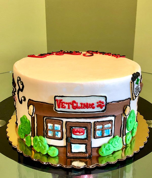 Veterinarian Layer Cake