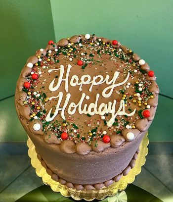 Happy Holidays Layer Cake