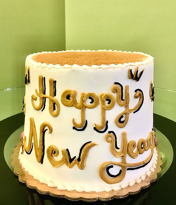 New Year's Layer Cake