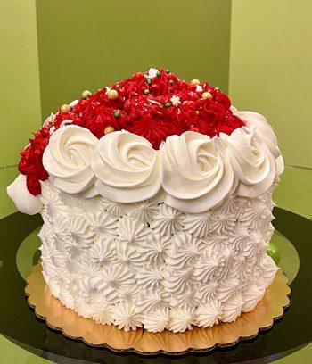 Santa Claus Layer Cake - Back