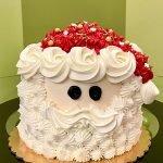 Santa Claus Layer Cake