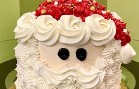 Santa Claus Layer Cake