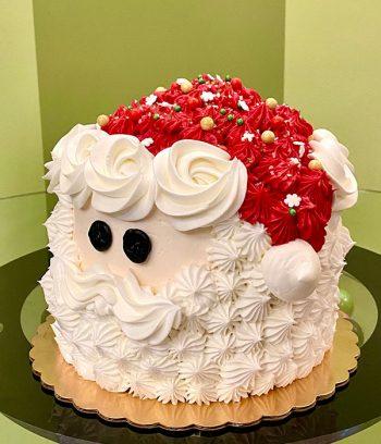 Santa Claus Layer Cake - Side