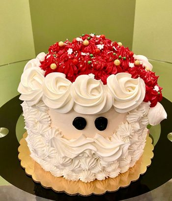 Santa Claus Layer Cake - Top