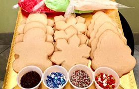 Christmas Cookie Decorating Kit