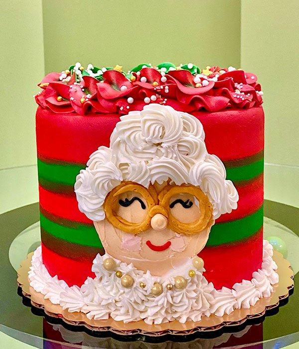 Mrs. Claus Layer Cake