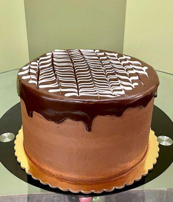 Boston Cream Pie Layer Cake - Chocolate