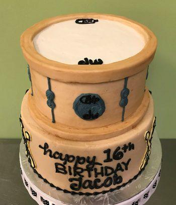 Drum Tiered Cake