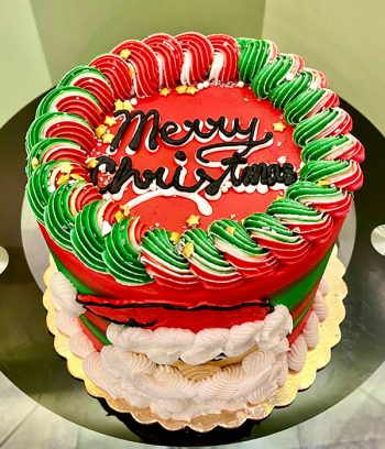 Mr. Claus Layer Cake - Top