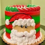 Mr. Claus Layer Cake