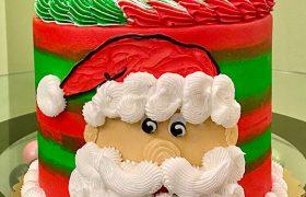 Mr. Claus Layer Cake