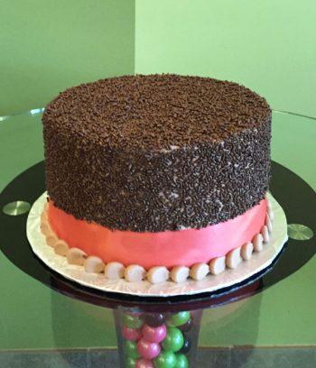 Sprinkle Layer Cake - Chocolate