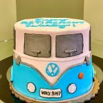 VW Camper Van Layer Cake