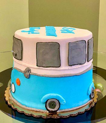 VW Camper Van Layer Cake - Side