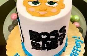Boss Baby Layer Cake - Top