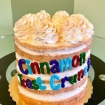Cinnamon Toast Crunch Layer Cake
