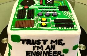 Circuit Board Layer Cake