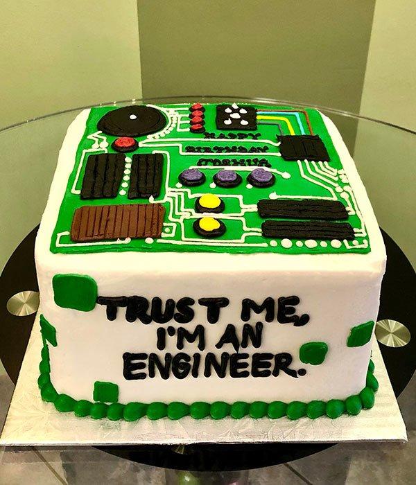 Circuit Board Layer Cake
