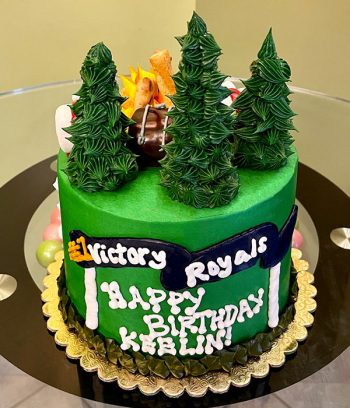 Fortnite Forest Layer Cake