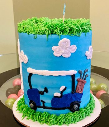 Golf Layer Cake - Side