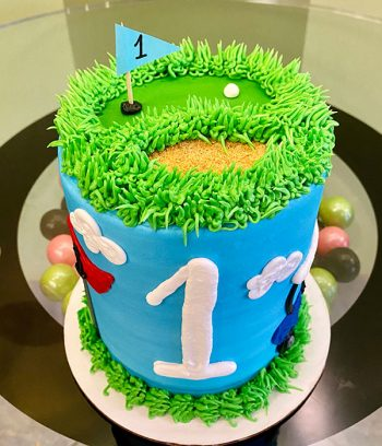 Golf Layer Cake - Top