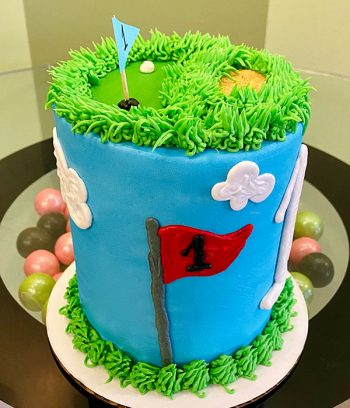 Golf Layer Cake - Side