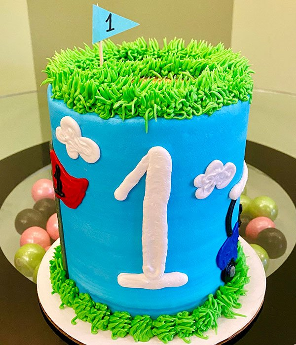 Golf Layer Cake