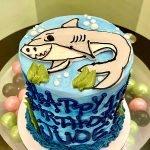 Shark Layer Cake - Top