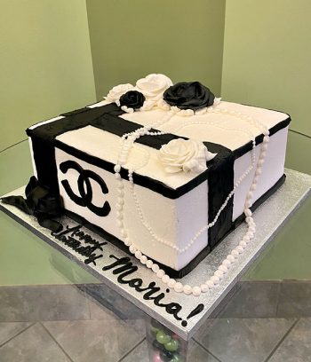 Chanel Box Layer Cake - Side