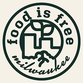 Food is Free MKE logo.