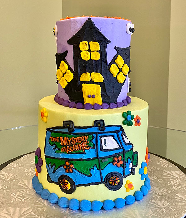 Scooby Doo Tiered Cake