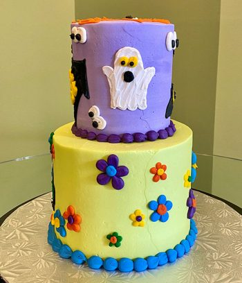 Scooby Doo Tiered Cake - Side