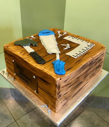 Woodworking Layer Cake - Side
