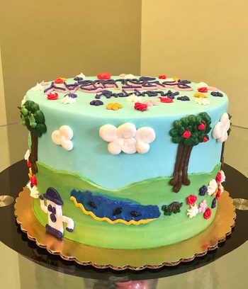 Animal Crossing Layer Cake - Side