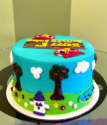 Animal Crossing Layer Cake