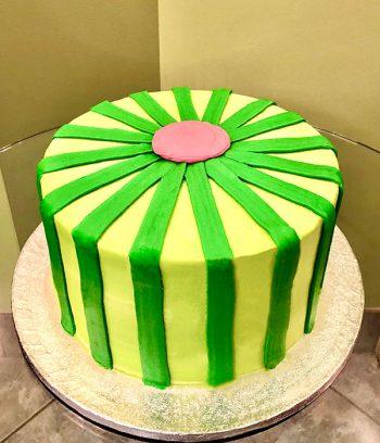 Cocomelon Layer Cake - Back