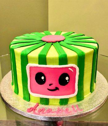 Cocomelon Layer Cake